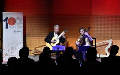 Shinichiro Tokunaga comenta la Conferencia Cultural de Min-On sobre el Paraguay El concierto de Berta Rojas