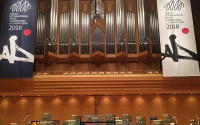 Première sélection des candidats au 18e Concours International de Musique de Tokyo (section Direction d'Orchestre), Édition 2018