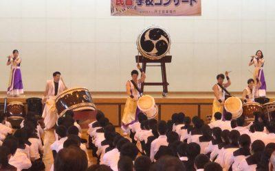 규슈(후쿠오카, 사가, 구마모토) 초・중학교에서 민음 학교콘서트