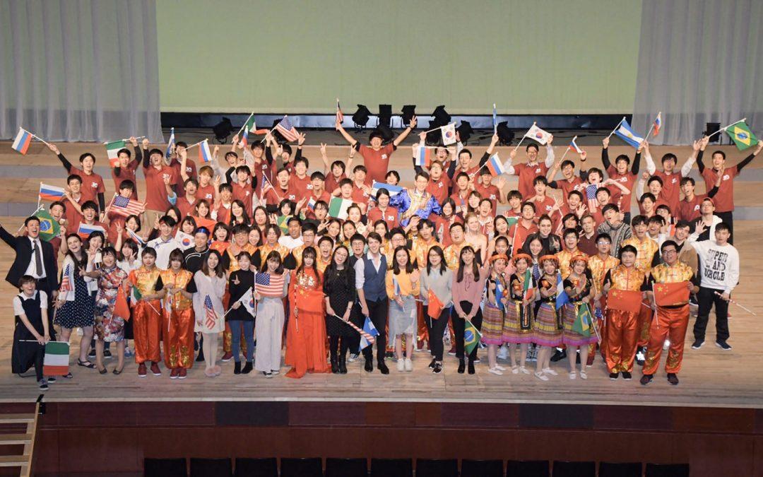 2019년 12월, 제30회 간사이유학생음악제, 제6회 가나가와유학생음악제를 개최