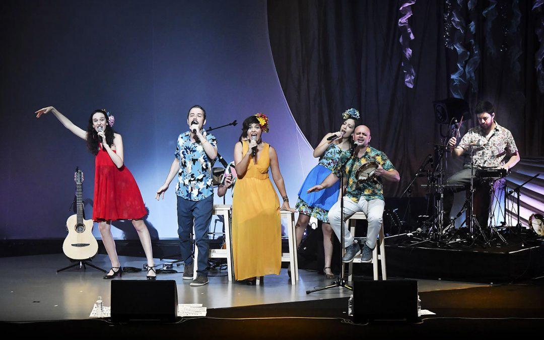 브라질에서 '올지나리우스'(일행 7명)가 일본을 방문해 공연을 개최