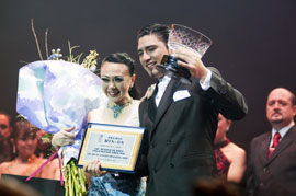 Interview with World Tango Champions Chizuko Kuwamoto and Diego Ortega