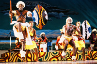 Kenyan National Dancers and Drummers in 1991
