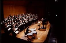 The Royal Swedish Men's Choir (Orphei Drängar) in 1984