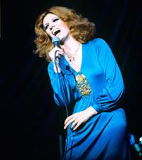 Iva Zanicchi, Italian vocalist in 1978