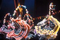The Ramon Obusan Folkloric Dance Troupe of the Philippines in 1990