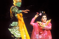 The Myanmar National Theater Dance Ensemble in 1992