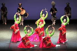 Gyeonggi Provincial Dance Company Expresses Traditions of Korea