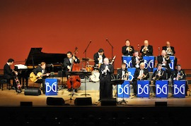 Benny Goodman Orchestra Swings Into Town
