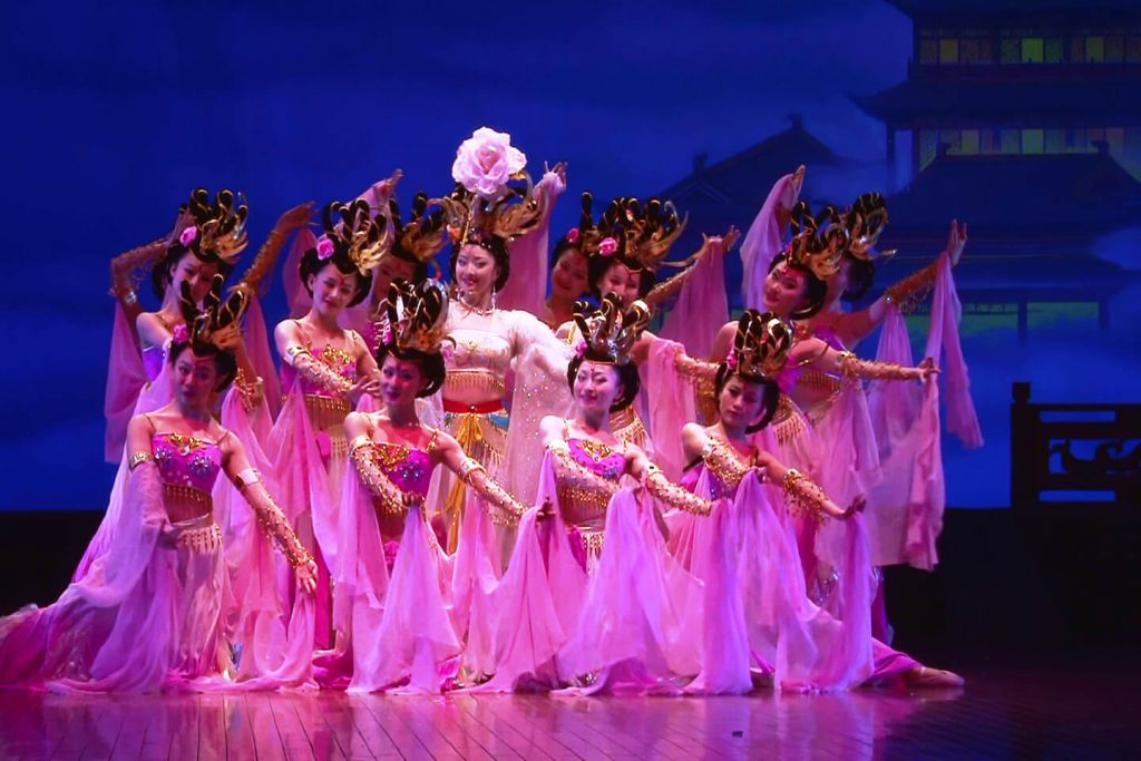 Scene from Moon Over the Capital by the Shaanxi Song and Dance Troupe