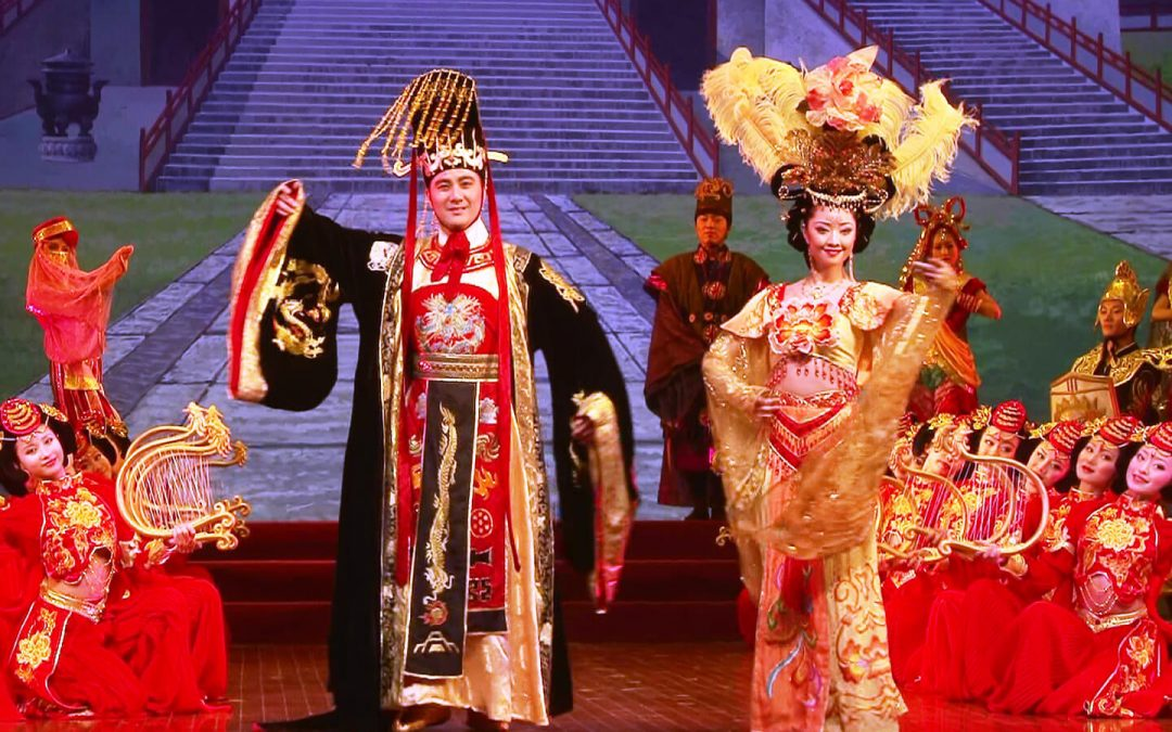Shaanxi Song and Dance Troupe Celebrates Sino-Japanese Friendship