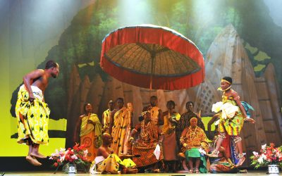 Ghana Dance Ensemble Takes Audience on a Voyage of Discovery
