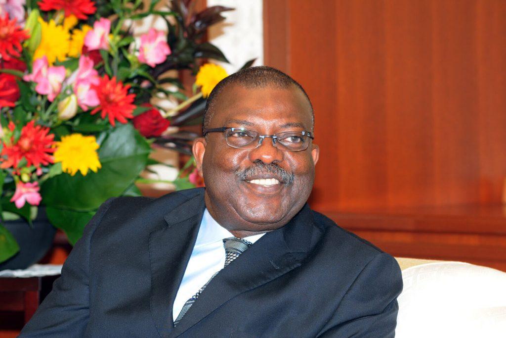 H.E. Dr. William G. M. Brandful, Ambassador of the Republic of Ghana