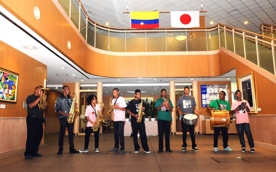 Colombian Teens Bring the Unique Spirit of Chirimía to Japan