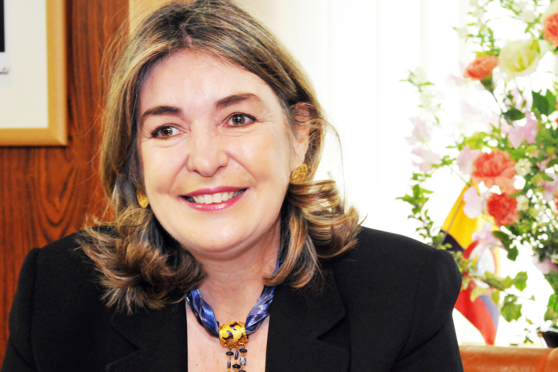 H.E. Patricia Cardenas, Ambassador of Colombia