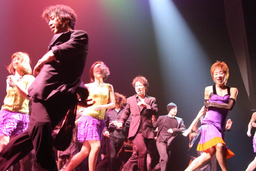 Broadway-style performance in Tokyo