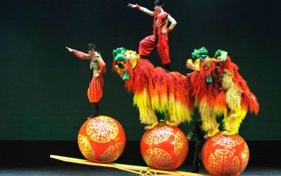 The Shenyang Acrobatic Troupe of China