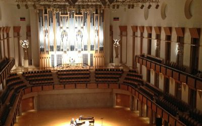 Pipe Organ Recital Echoes in the Majestic Ark Hall