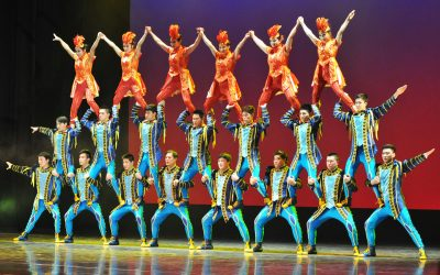 Interview with Mr. An Ning, Tour Director of the Shenyang Acrobatic Troupe of China