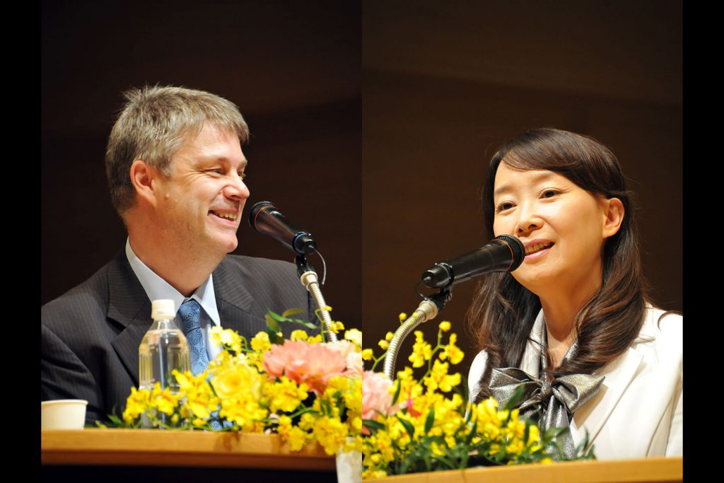 Dr. Olivier Urbain and Dr. Agnes Chan