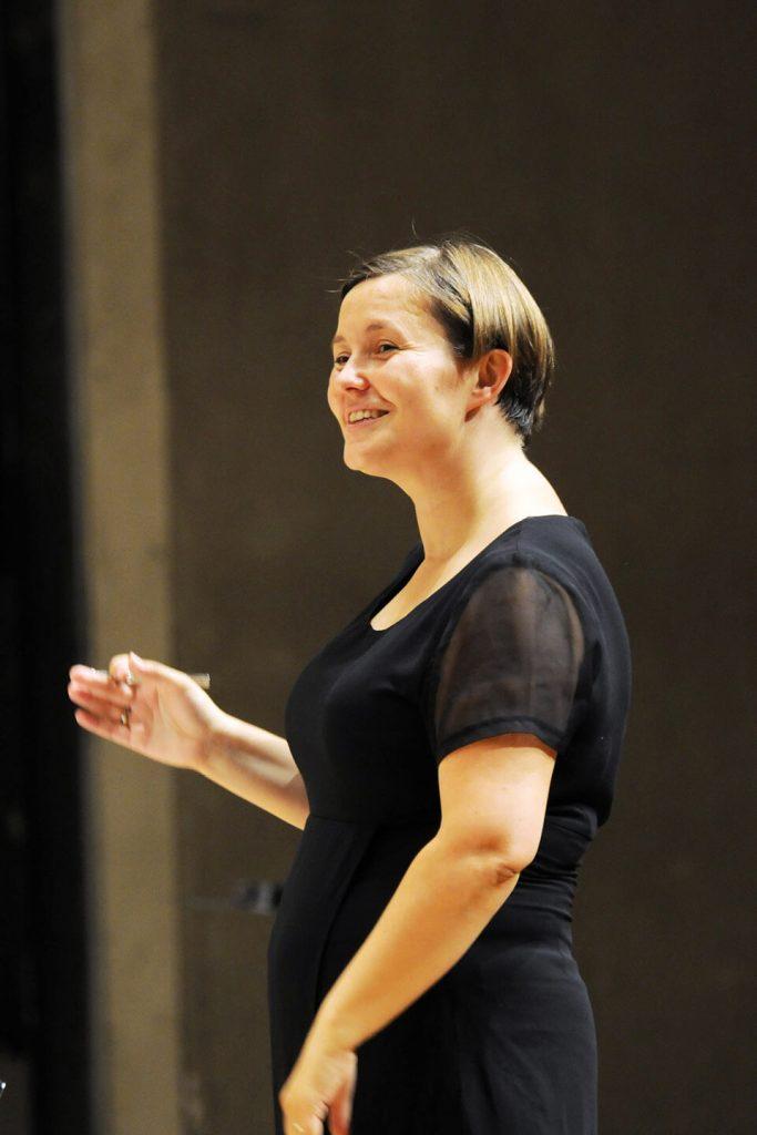 Norwegian Girls Choir conductor