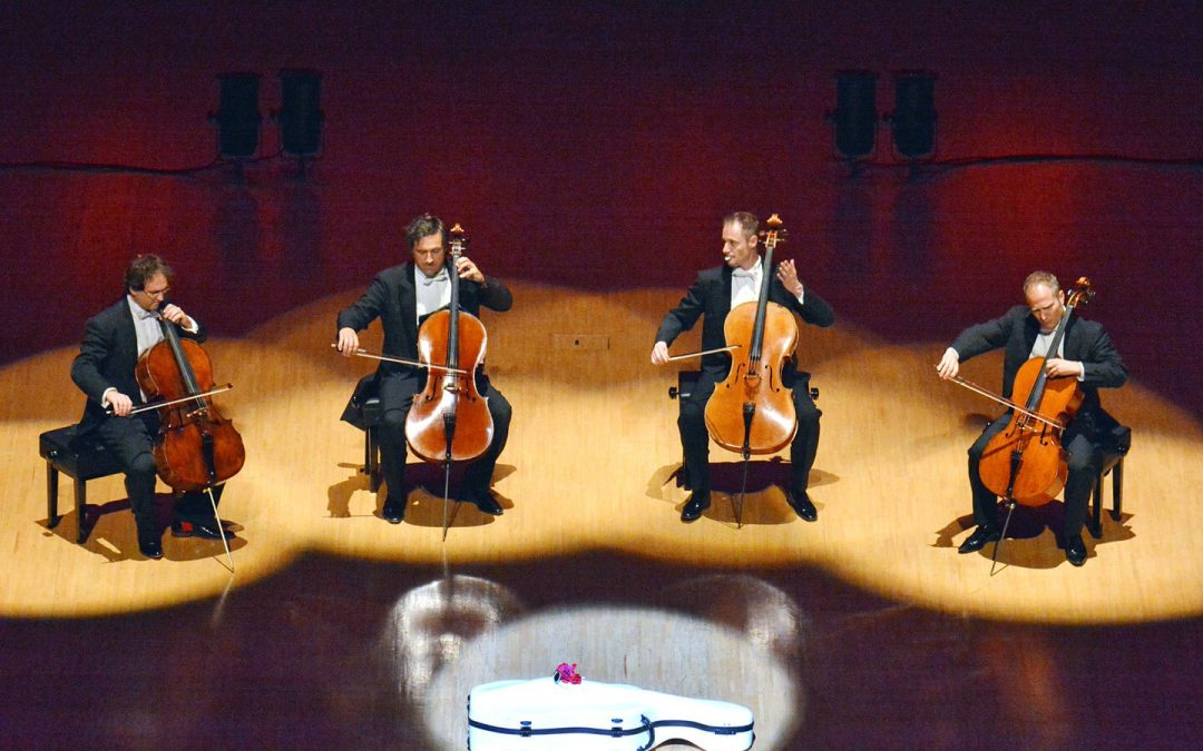 Quattrocelli Combines Sweet Cello Sounds With Lively Stage Antics