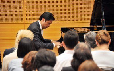 Ecuadorian Pianist Boris Cepeda Delivers Cultural Lecture & Concert