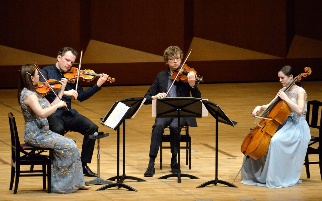 The Berlin Philharmonic's Varian Fry Quartet Amazes in Japan