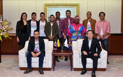 Colombian Group La Jagua Visit the Min-On Culture Center
