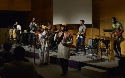 Vibrant Welcome Reception Held for La Jagua at the Min-On Culture Center