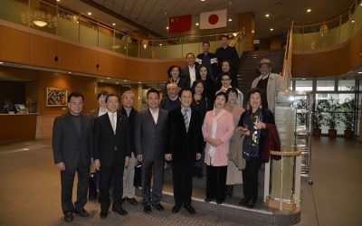 Treasured Chinese Actors and Singers Visit Min-On Culture Center in Japan