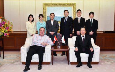 Peruvian Ambassador Visits Min-On Culture Center