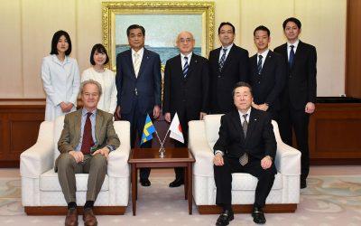 Swedish Ambassador Visits Min-On Culture Center