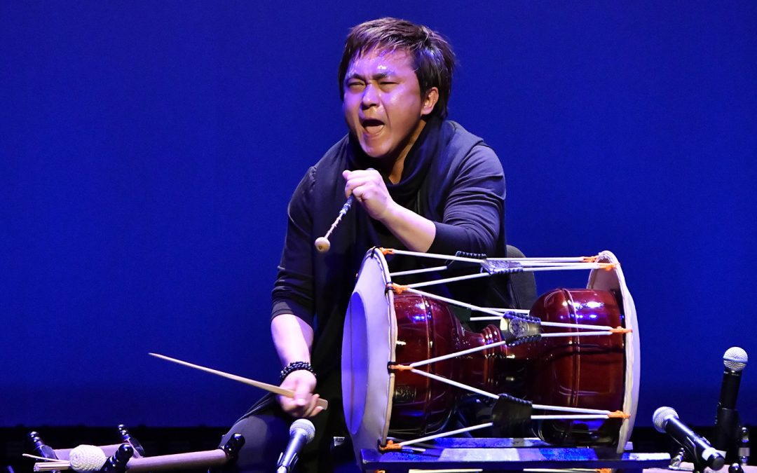 Encounters of Young, Korean-Japanese, Traditional Musicians Event Held at Korean Cultural Center