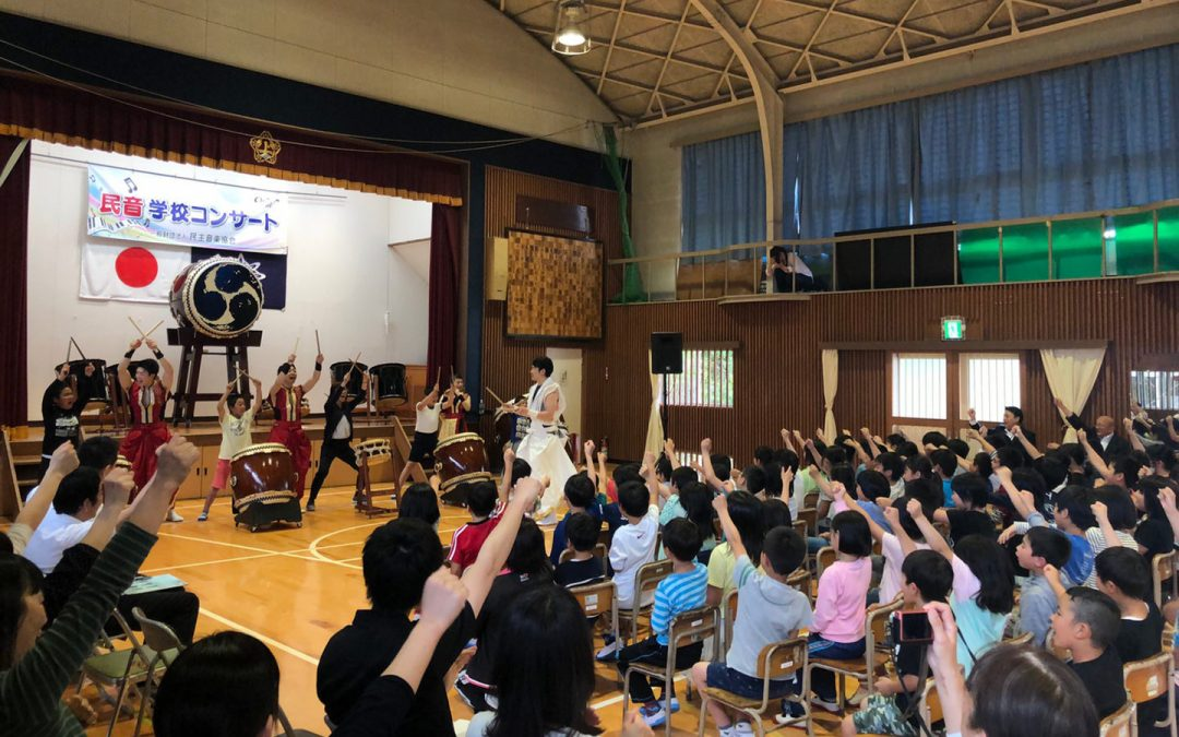 Japan Marvelous Drummers Min-On School Concerts Held in Fukuoka, Saga and Kumamoto Prefectures
