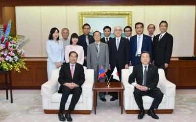 Laos Ambassador Visits Min-On Culture Center