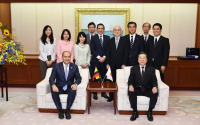 Colombian Ambassador Visits Min-On Culture Center