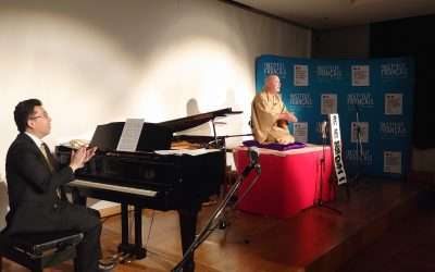 """Min-On Music Museum Lecture and Concert Program Holds """"Cyril and Seiji Piano and Rakugo Concert"""""""