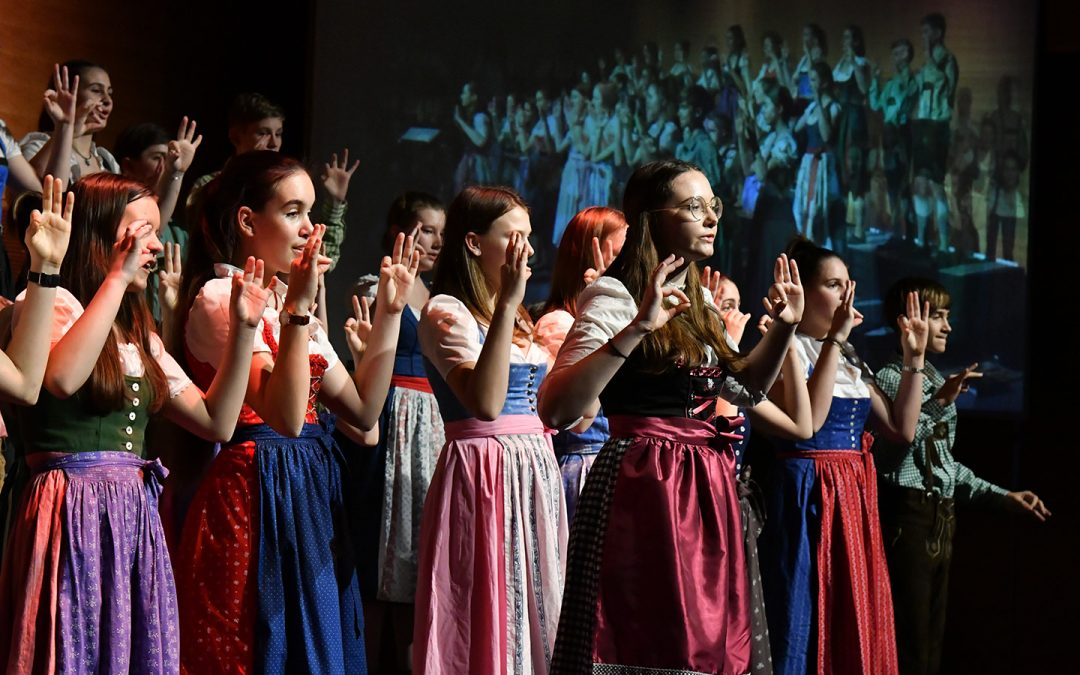 为纪念日本与奥地利友好150周年,民音举行Singakademie Graz少年少女合唱团的讲演音乐会